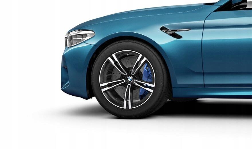"""BMW M kompletní zimní kola dvojité paprsky 705 bicolor (orbitová šedá / lesklá) 19"""""""