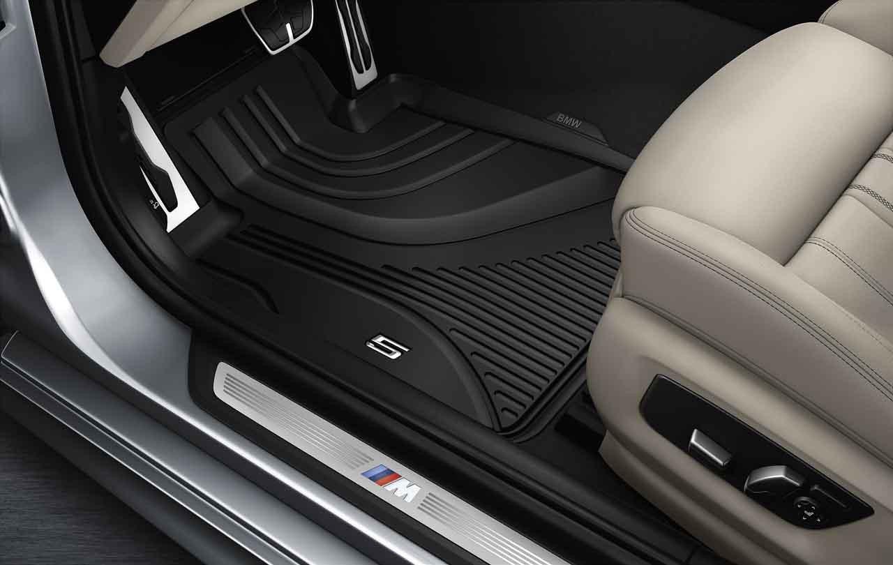 ZADNÍ GUMOVÉ KOBERCE BMW 5, G30 ( 2016 - dále )